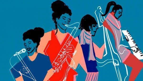 Mujeres latinas y españolas en Jazz Sin Fronteras